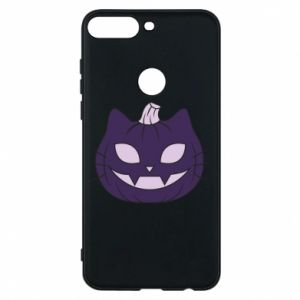 Phone case for Huawei Y7 Prime 2018 Lilac pumpkin