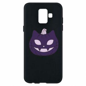 Etui na Samsung A6 2018 Lilac pumpkin