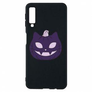 Etui na Samsung A7 2018 Lilac pumpkin
