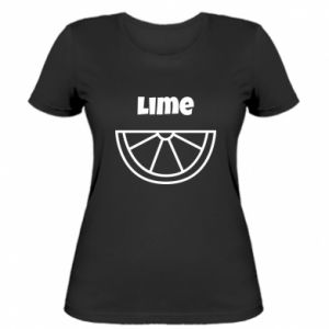 Women's t-shirt Lime for tequila