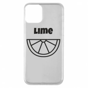 Phone case for iPhone 11 Lime for tequila