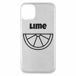 Phone case for iPhone 11 Pro Lime for tequila