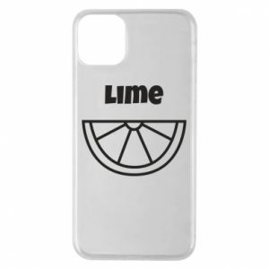 Phone case for iPhone 11 Pro Max Lime for tequila
