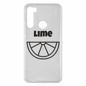 Etui na Xiaomi Redmi Note 8 Lime for tequila