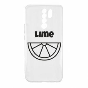 Etui na Xiaomi Redmi 9 Lime for tequila