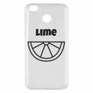 Etui na Xiaomi Redmi 4X Lime for tequila