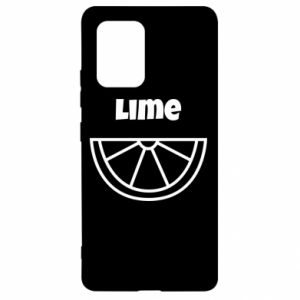 Etui na Samsung S10 Lite Lime for tequila