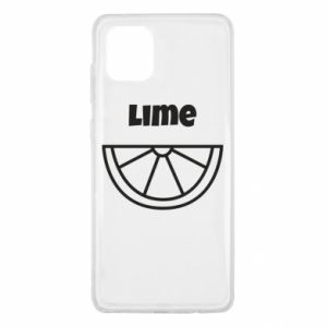 Etui na Samsung Note 10 Lite Lime for tequila