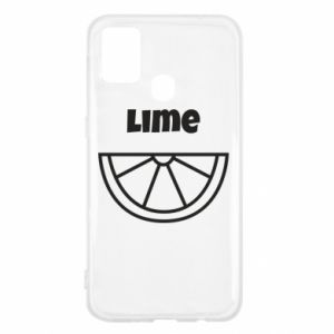Etui na Samsung M31 Lime for tequila
