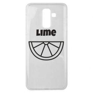 Etui na Samsung J8 2018 Lime for tequila