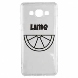 Etui na Samsung A5 2015 Lime for tequila