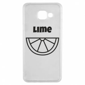 Etui na Samsung A3 2016 Lime for tequila