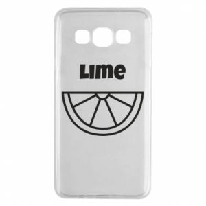 Etui na Samsung A3 2015 Lime for tequila