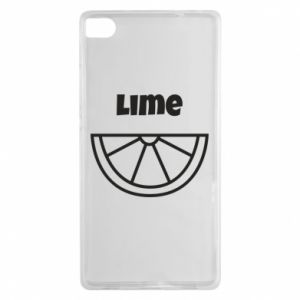 Etui na Huawei P8 Lime for tequila