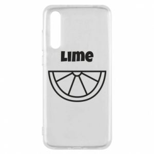 Etui na Huawei P20 Pro Lime for tequila