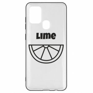 Etui na Samsung A21s Lime for tequila