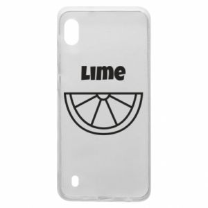 Etui na Samsung A10 Lime for tequila