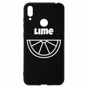 Etui na Huawei Y7 2019 Lime for tequila