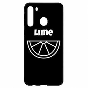 Etui na Samsung A21 Lime for tequila