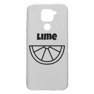 Etui na Xiaomi Redmi Note 9/Redmi 10X Lime for tequila