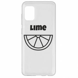 Etui na Samsung A31 Lime for tequila