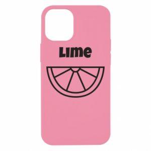 Etui na iPhone 12 Mini Lime for tequila