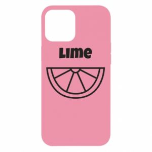 Etui na iPhone 12 Pro Max Lime for tequila