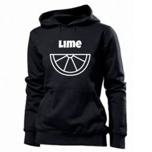 Women's hoodies Lime for tequila