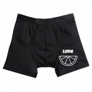 Boxer trunks Lime for tequila