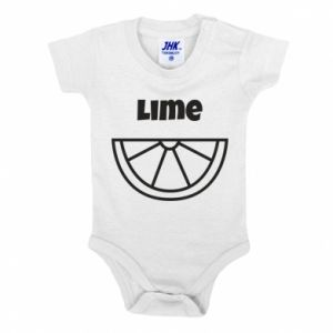 Baby bodysuit Lime for tequila