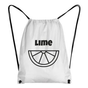 Backpack-bag Lime for tequila