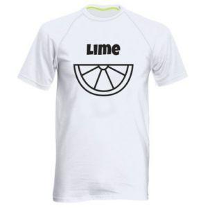Koszulka sportowa męska Lime for tequila