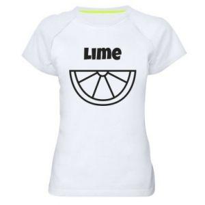 Koszulka sportowa damska Lime for tequila