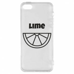 Etui na iPhone 5/5S/SE Lime for tequila