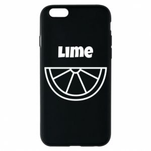 Phone case for iPhone 6/6S Lime for tequila