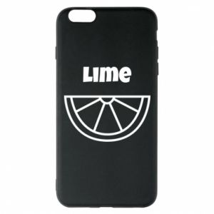Phone case for iPhone 6 Plus/6S Plus Lime for tequila