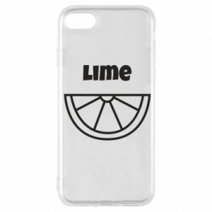 Phone case for iPhone 7 Lime for tequila