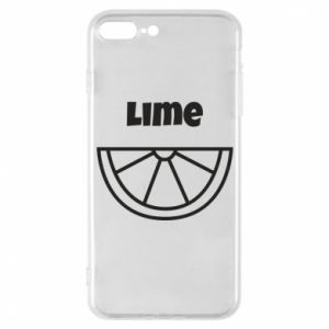 Phone case for iPhone 7 Plus Lime for tequila