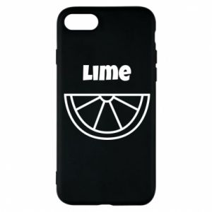 Phone case for iPhone 8 Lime for tequila