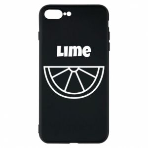 Phone case for iPhone 8 Plus Lime for tequila