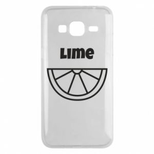 Etui na Samsung J3 2016 Lime for tequila