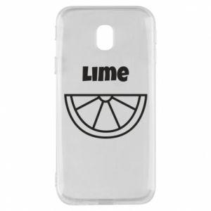 Etui na Samsung J3 2017 Lime for tequila