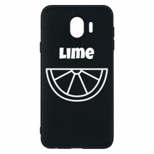 Phone case for Samsung J4 Lime for tequila
