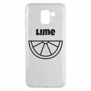 Phone case for Samsung J6 Lime for tequila