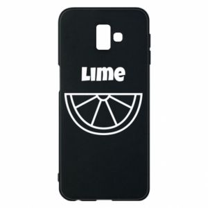Phone case for Samsung J6 Plus 2018 Lime for tequila