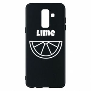 Etui na Samsung A6+ 2018 Lime for tequila