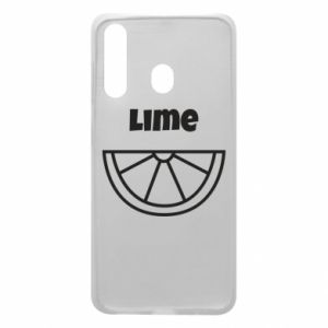 Phone case for Samsung A60 Lime for tequila