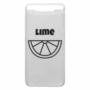 Phone case for Samsung A80 Lime for tequila