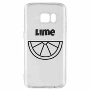 Phone case for Samsung S7 Lime for tequila