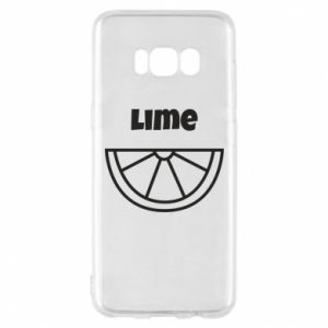 Phone case for Samsung S8 Lime for tequila